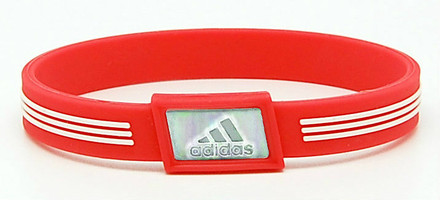 Limited Edition adidas SPORT - Coral  Negative Ion Wristband