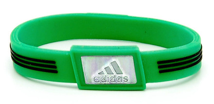 Limited Edition adidas SPORT - Green Negative Ion Wristband