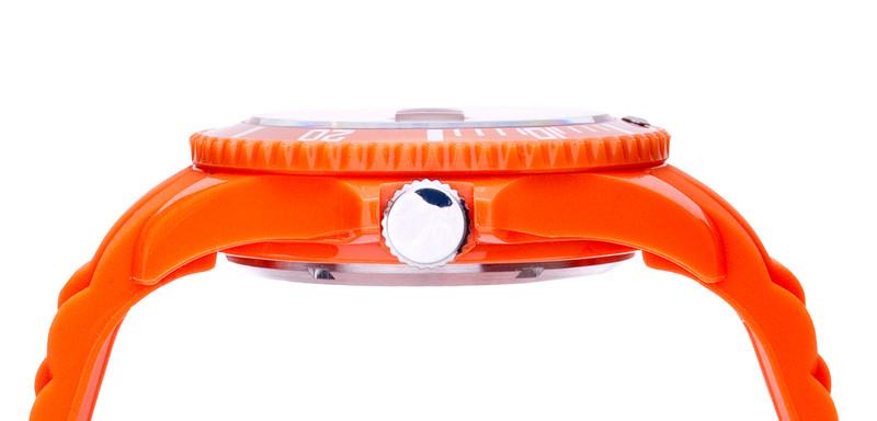 Orange Unisex IonTime Sport Wrist Watch