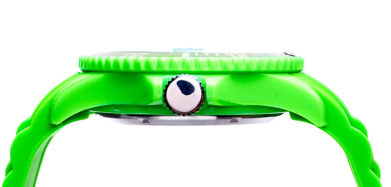 Green Unisex IonTime Sport Wrist Watch (Side)