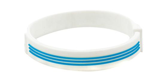 White adidas Sports Bracelet - side