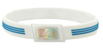 White adidas Sports Bracelet - front