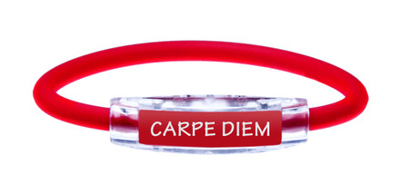 IonLoop Ruby Red Carpe Diem (front view)