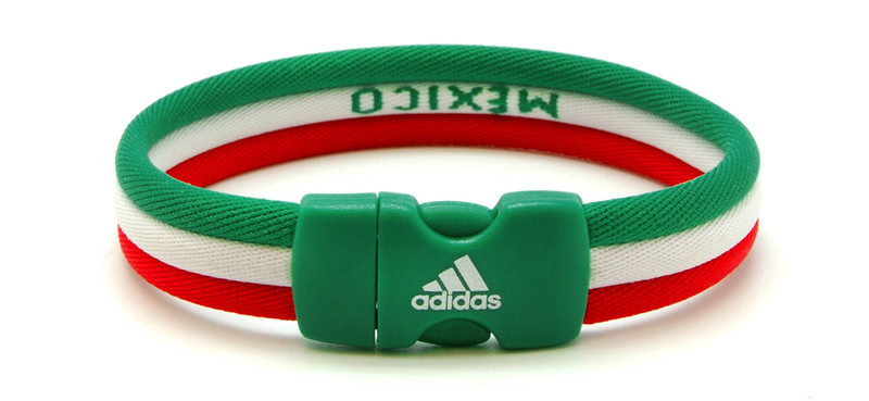 adidas World Cup Mexico Ionic Bracelet (back view)