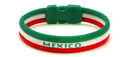 adidas World Cup Mexico Ionic Bracelet (front view)