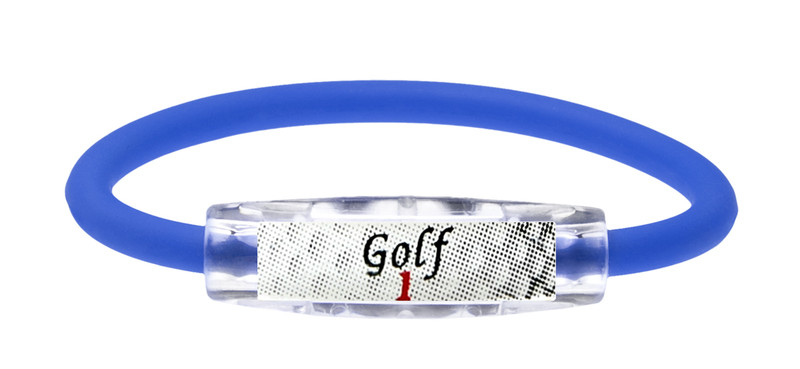 Custom Golf 1 Royal Blue Bracelet