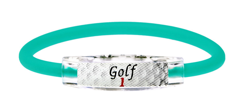Custom Golf 1 Turquoise Sea Bracelet
