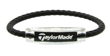 Taylor Made Jet Black Bracelet (front view)