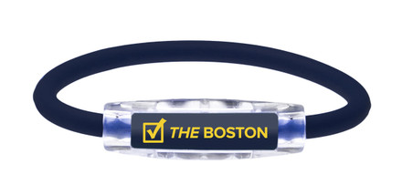 IonLoop THE BOSTON running Bracelet (front view)