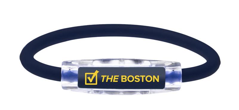 IonLoop THE BOSTON running Bracelet (front view)