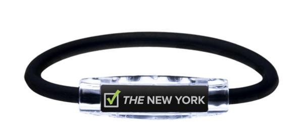 IonLoop THE NEW YORK Running Bracelet (front view)