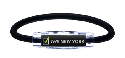 IonLoop THE NEW YORK Running Bracelet (front view)