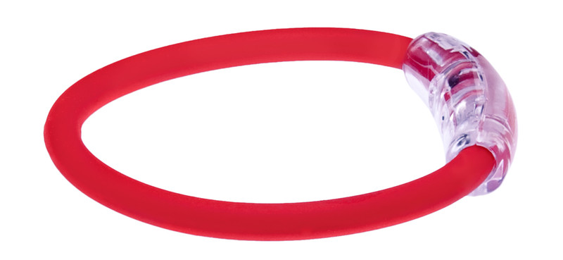 adidas Claret Red  Bracelet (side view)