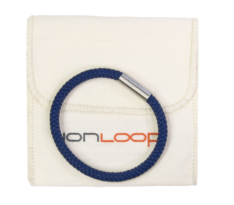 Indigo Blue Leather Bracelet packaging