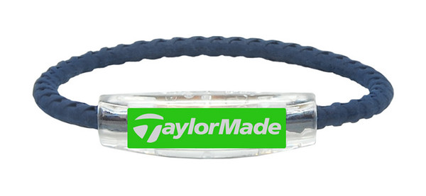 Taylor Made Navy Braided and Apple Green (front)