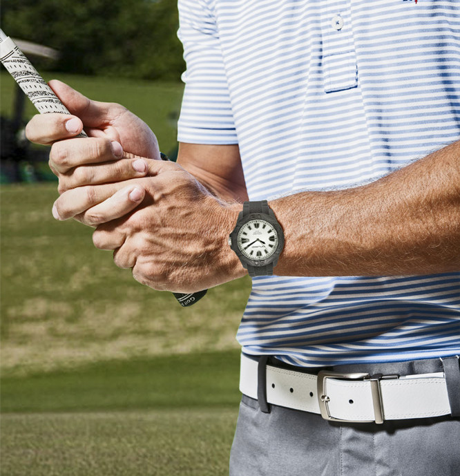 Carbon Fiber Sport Watch Great for golf!