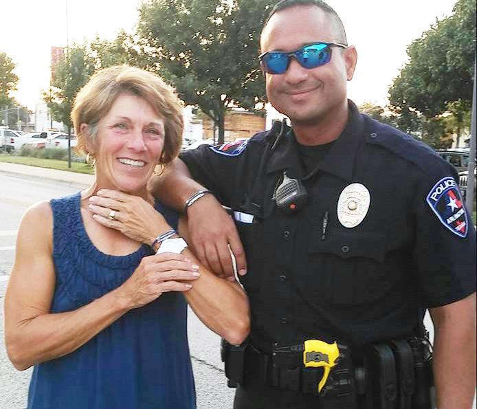 Happy Blue and Brave IonLoop recipient!  Arlington Police Officer
