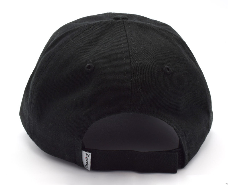 IonLoop Logo Black Small Fit Hat (back)