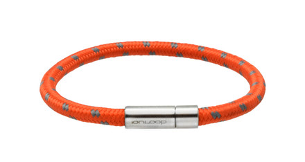 Solo Cord Orange Peel Negative Ion Bracelet