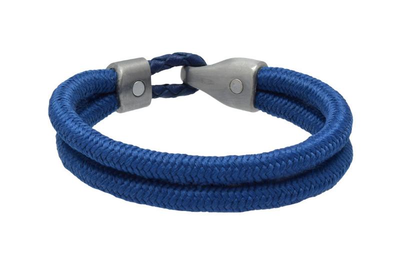 Cobalt Blue Dual Cord Bracelet (back)