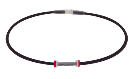 MAG360 Black Necklace w/Wheels (full view)  ONE SIZE: 19""