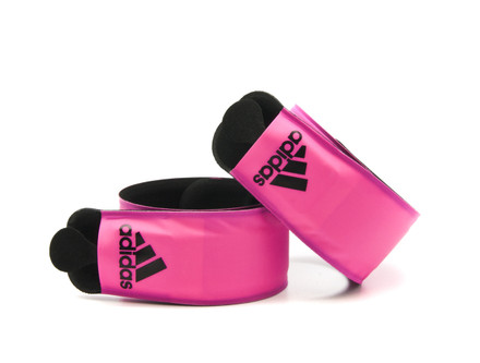 adidas LED Slap Band - Pink Set