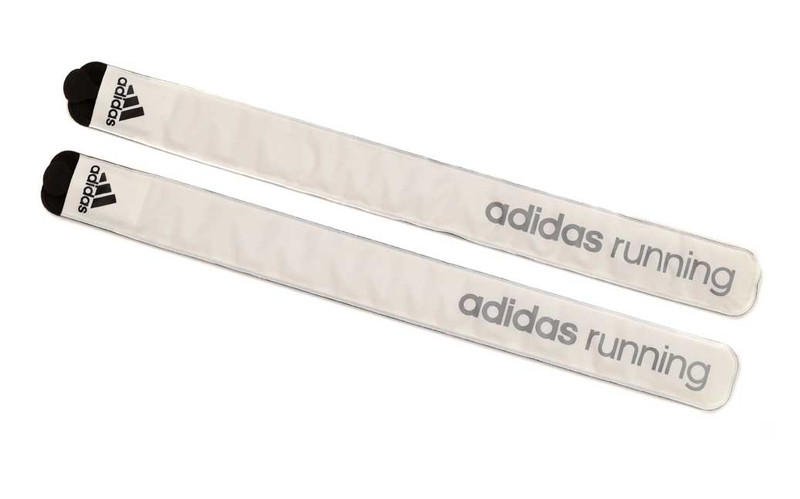 adidas LED Slap Band - White Set