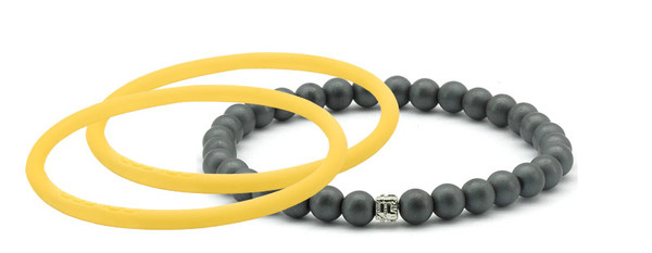 mag/fusion +Plus Mellow Yellow + Mellow Yellow  Pak 1 mag/fusion PLUS magnetic Bracelet, 2 IonThins  (Mellow Yellow + Mellow Yellow)