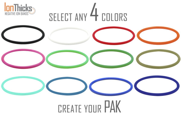 Pick any 4 IonTHICK color.  12 colors to choose from.
