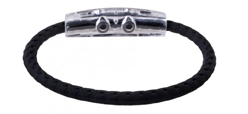 adidas Original  Teal -Black Braided Bracelet (back view)