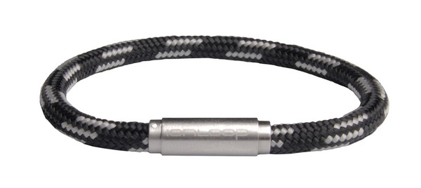 Solo Cord Black & Gray (front)