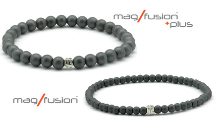 """MARCH MADNESS SPECIAL Mag/Fusion """"Twin"""" set for $75 during this year's NCAA Tournament! From the first tip-off on the Friday March 19th until there is no time on the clock Monday April 5th, we will offer this popular pair of bracelets in the same size."""