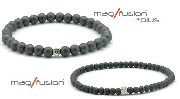 "MARCH MADNESS SPECIAL Mag/Fusion ""Twin"" set for $75 during this year's NCAA Tournament! From the first tip-off on the Friday March 19th until there is no time on the clock Monday April 5th, we will offer this popular pair of bracelets in the same size."