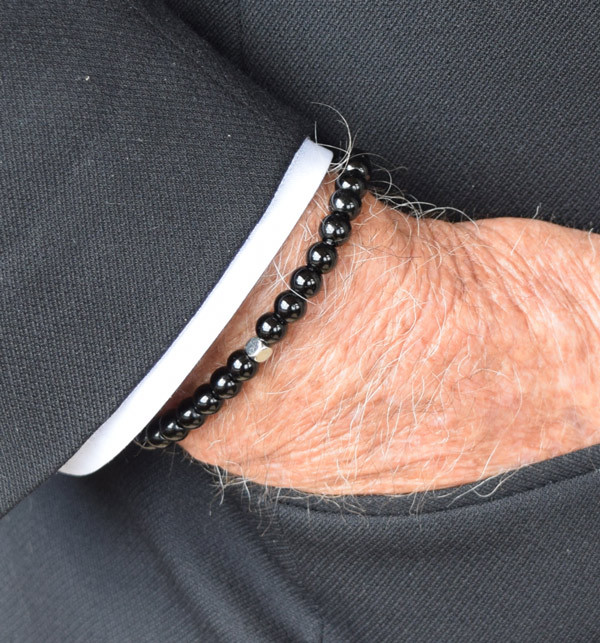 IonLoop  Onyx Stone 6mm Bead Bracelet...goes with everything. Looks great with jeans, shorts, or a Tux, check it out.