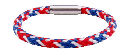 USA Solo Cord Red, White & Blue (back