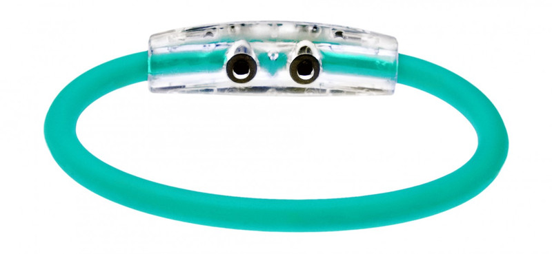 IonLoop Turquoise Sea Bracelet (back view)
