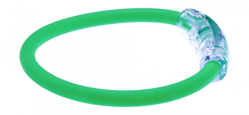 IonLoop's Italy Flag Bracelet with Magnets & Negative Ions (side view)