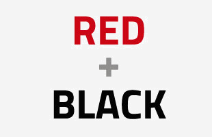 Black + Red Collection