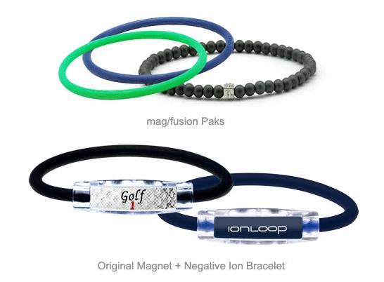 magnet and negative ion bracelets