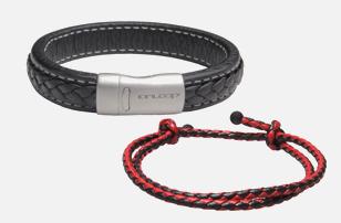 Negative Ion Leather Bracelet