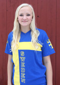Swedish Flag Soccer Jersey