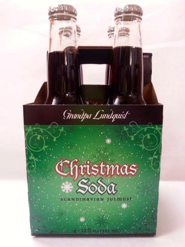 Grandpa Lunquist Julmust: A Swedish Christmas tradition