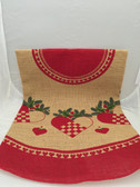 Scandinavian Heart Christmas Tree Skirt