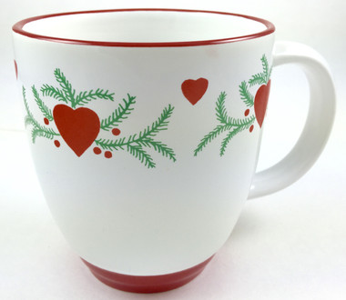 Hearts and Pine Bistro Mug
