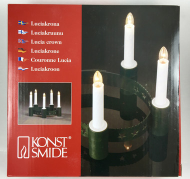 Lucia Candle Crown