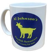 Al's Goat Logo Coffee Cup