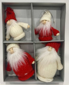 Tomte Ornaments 4 Pack