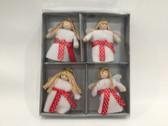 Lucia 4 piece ornaments