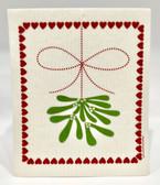 Mistletoe Swedish Dishcloth