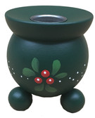 Lingonberry Barrel Votive